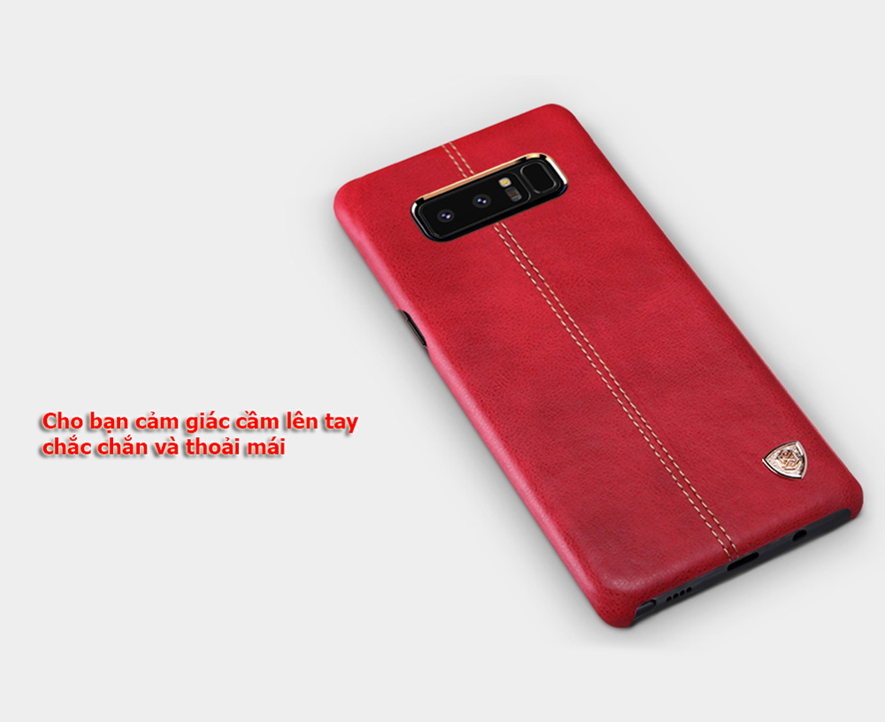 ốp lưng note 8 nillkin leather