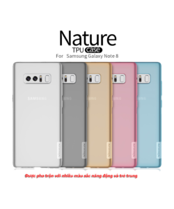 ốp lưng silicone note 8 nillkin