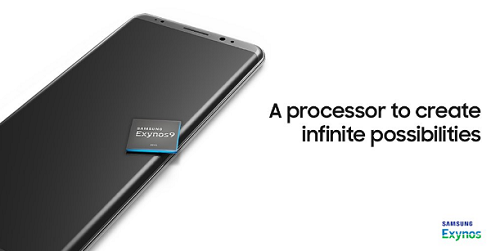 Note 8 sử dụng chip Exynos