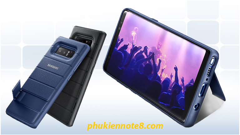 ốp lưng protective standing note 8