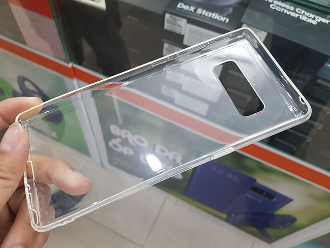 ốp lưng Silicon Gor Galaxy Note 8 trong suốt 100%